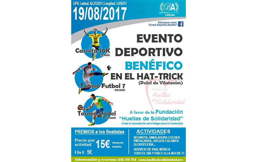 Evento Deportivo Benéfico en el HAT-TRICK