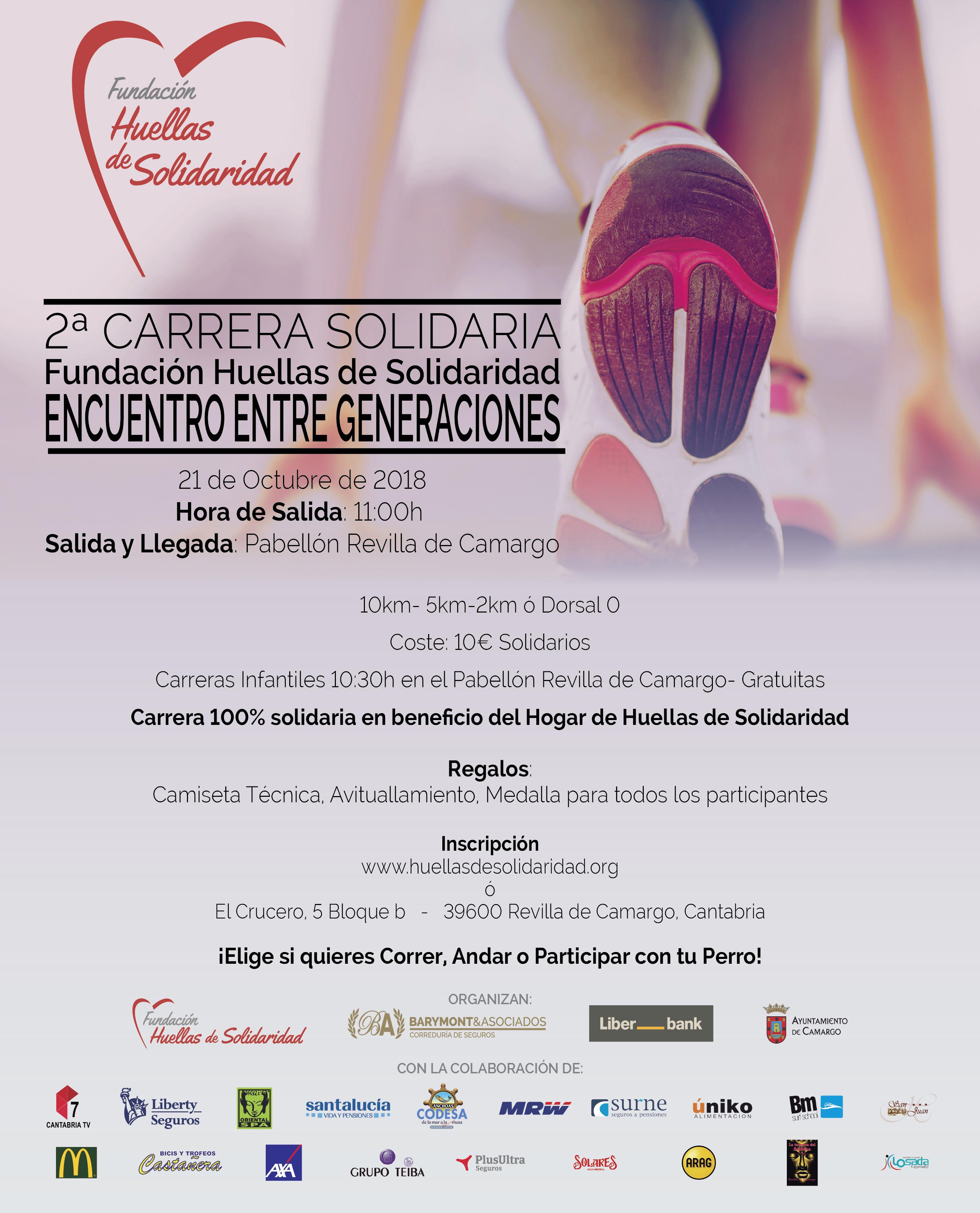 Cartel II Carrera Solidaria B con patrocinadores-01