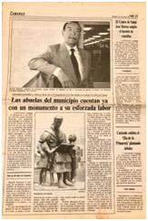 """Repercusión en los Diarios de la Época """"El Diario Montañes"""" """"El Diario Alerta"""""""